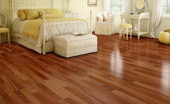 Sapele floor