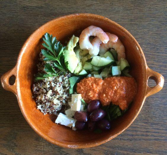 New Year Quinoa Bowl — Good Food Makes Me Happy!