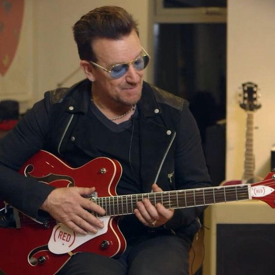 Want to win Bono's guitar & meet him on the next @U2 tour? All while fighting AIDS with @RED? We thought so. Share. Enter. #ShareTheSound