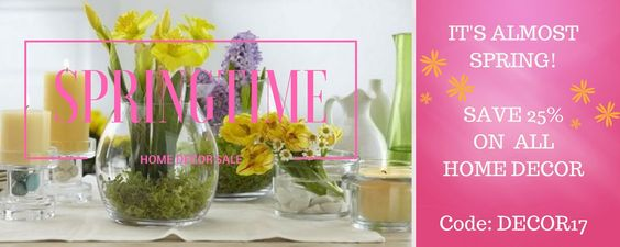 Spring Decorating Sale at Maison XXIV Ends 3/31/17 #designerhome #homedecor