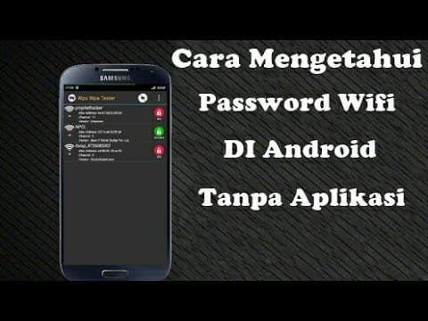 Cara Mengetahui Password Wifi Yang Sudah Connect Di Hp Android Di 2020 Wi Fi Trik Android Pelajaran Komputer