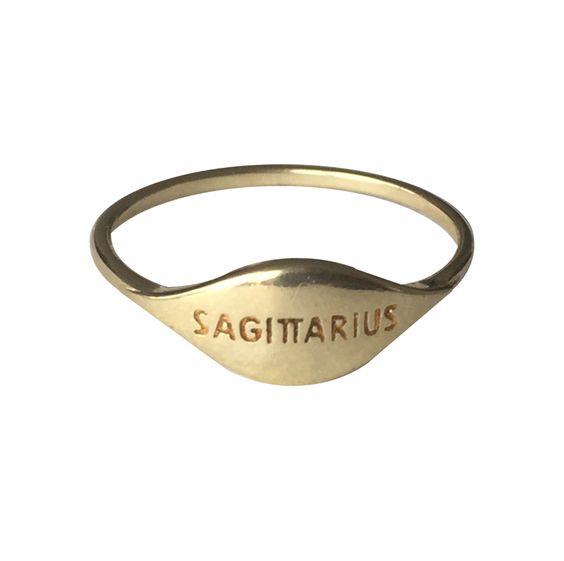 ZODIAC RING SAGITTARIUS — VERAMEAT