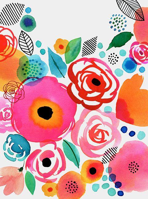 Margaret Berg Art: Flower Gems