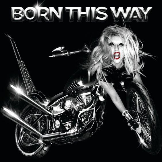 Lady Gaga – Born This Way (single cover art)