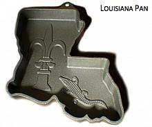 Louisiana Shaped Cake Pan