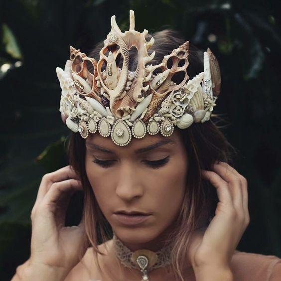 Mermaid crown: