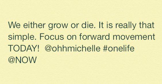 Grow or die!