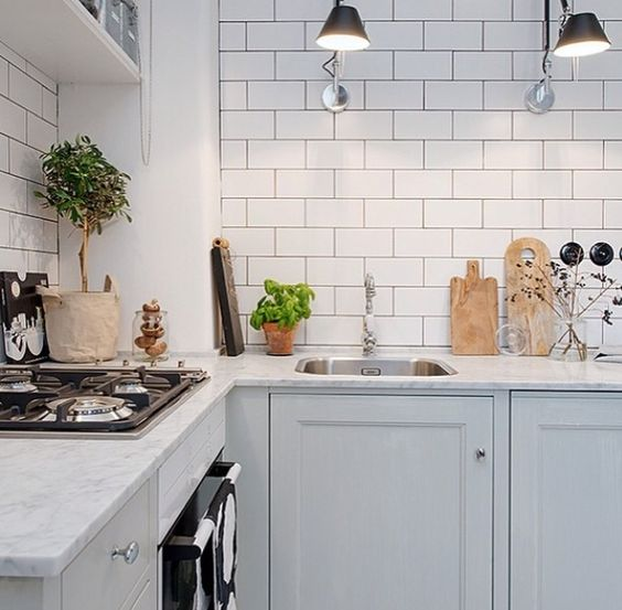 Grey Kitchen Marble: Lovely Grey Kitchen