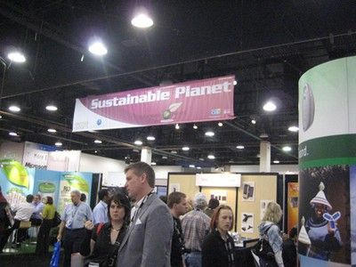CES 2009: Sustainable Planet Zone is Mostly Solar Junk