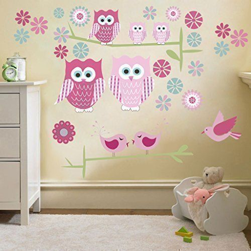 Owls Large Removable and Repositionable Wall Stickers Déc... https://www.amazon.co.uk/dp/B00VSDCH4K/ref=cm_sw_r_pi_dp_x_.MM7xbDXG2XB3