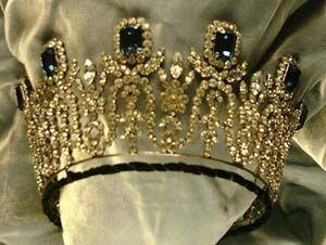 Empress Josephine of France Sapphire & Diamond