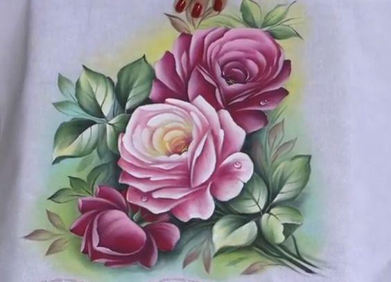 Artesanato Pintura em Tecido (3)