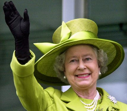 The Queen waves during an engagement - At 86 years of age she is the hardest worker I have ever known. Her part in the London 2012 Olympic opening ceremony was truly fantastic and brought a tear of happiness to my eye! I am very proud to be English and celebrated her Diamond Jubilee celebrations earlier this year too. Long live the Queen!