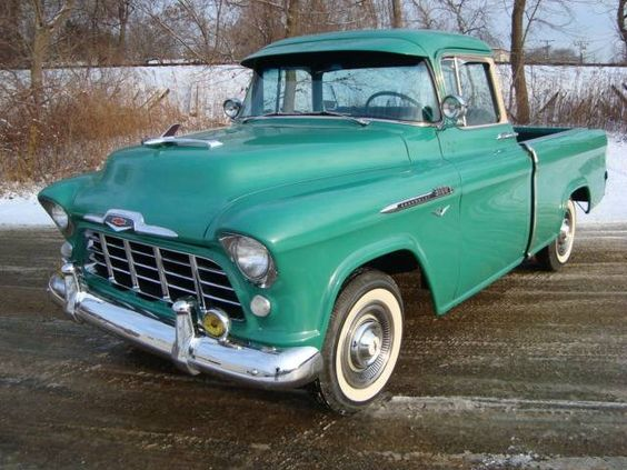 chevrolet pickup 1956 фото