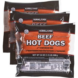 Kirkland Hot Dogs Lbs