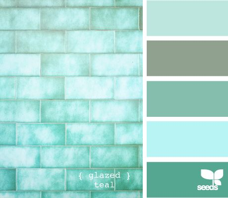 Teal colors and teal colors on pinterest - Bathroom color schemes brown and teal ...