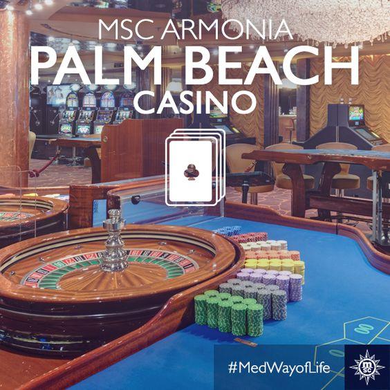 Des vacances placées sous le signe de la Détente et divertissement avec MSC... Qui a déjà tenté sa chance au Casino Palm Beach à bord du #MSCArmonia?