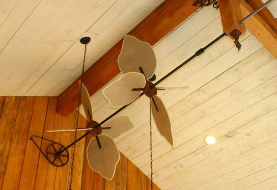 ceiling fans with pulley system | Ceiling Fans
