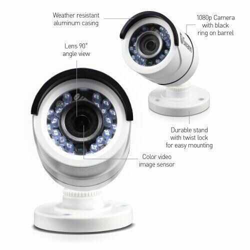 Swann T853 Swpro T853 1080p Multi Purpose Day Night Security Camera 2 Pack This Package Include 2 Cameras Cctv Defense Security Camera Surveillance Camera Hd Camera