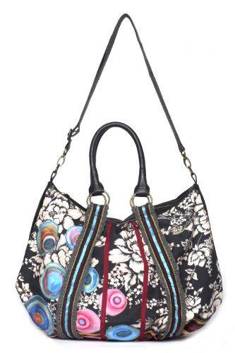 Bag-Rayas Topos - http://handbagscouture.net/brands/desigual/bag-rayas-topos/
