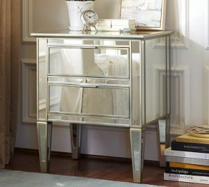 Pottery Barn Park Mirrored Bedside Table.jpg