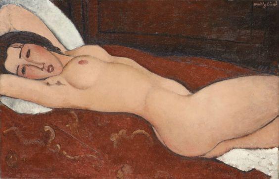 Nude #modigliani