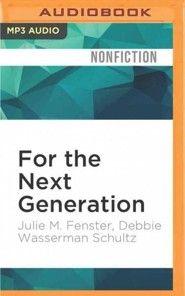 For the Next Generation: A Wake-Up Call to Solving Our Nation's Problems