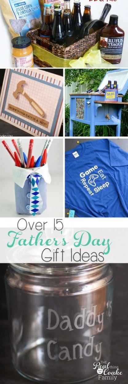 Love all these great Father's Day gift ideas! There are crafts for kids to make, ideas for a card, gifts from kids and a whole bunch of great Father's Day gifts.