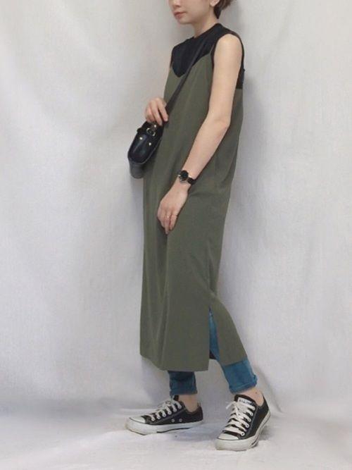 chanpeko guild primeのワンピースを使ったコーディネート wear ファッション ファッションコーディネート ワンピース