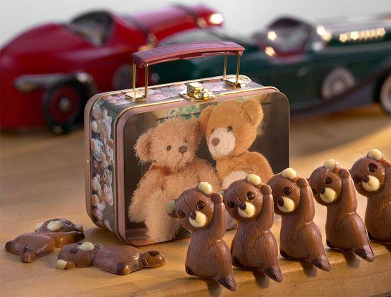 Lebkuchen Schmidt   Teddy-Koffer   Original Nürnberger Lebkuchen online kaufen