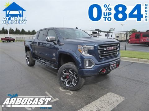 New 2019 Gmc Sierra 1500 At4 Black Widow Lifted Truck With