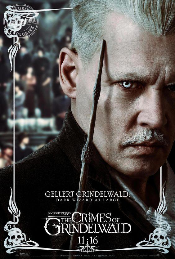 Animais Fantasticos Os Crimes De Grindelwald Harrypotter