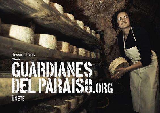 """Anuncio de campaña Teaser """"Guardianes del Paraíso"""". Jessica López, quesera de #PicosdeEuropa #ParaísoNatural"""