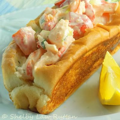 The Life & Loves of Grumpy's Honeybunch: Picnic Perfect Lobster Rolls...a contribution to the Cooking Light Virtual Supper Club.