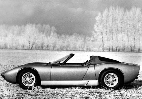 Bertone Lamborghini Miura Spyder 'original version' 1968