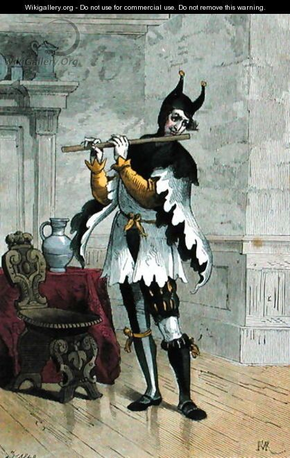 Jester in the Sixteenth Century - Stablo