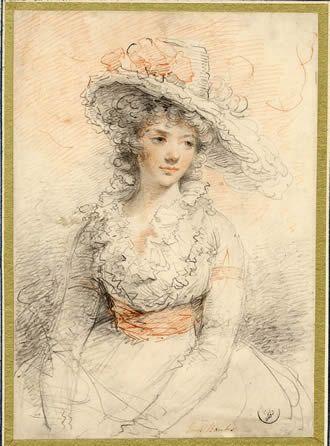 Lavinia Banks. But I think she's a fairly good representation of how I visualize Sophia.