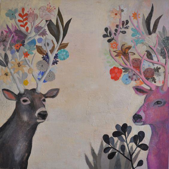 Homedesignideas Eu: Mirror Painting By Martyna Zoltaszek
