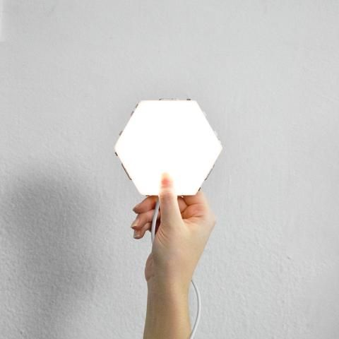 5 Tiles Power Cable Helios Touch Starter Pack Motion Lights Wall Lamp Light Panels