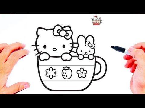 رسم قطة بطريقة سهلة رسم سهل طريقة رسم قطة في شلالة صغيرة تعليم الرسم Easy Drawings Youtube Fictional Characters Character Snoopy