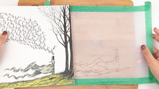 Use Tracing Paper Tracing Art Paper Art Projects Tracing Pictures