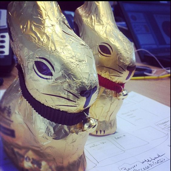 Easter gifts from the 'Freeaster Bunny'