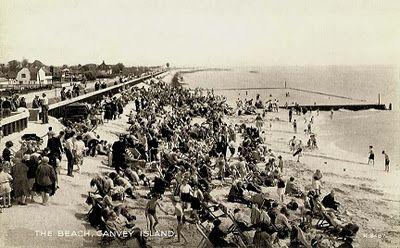Essex, Canvey Island Beach, 1950s