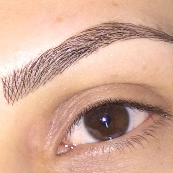 how to make your eyebrows thicker with eyeliner