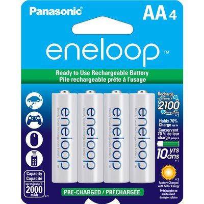 Lowes Canada 10 99 Or 46 Off Lowes Eneloop Nimh 4 Pack Aa Rechargeable Batteries 10 99 Clearance Ymmv Rechargeable Batteries Panasonic Nimh Battery