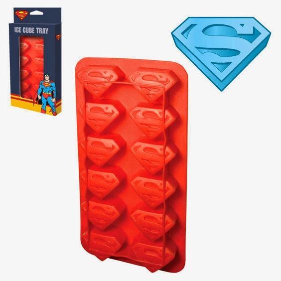 Cubitos de Hielo Superman   Merchandising Películas