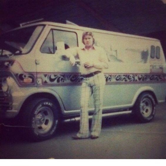 The custom van has stood the test of time...the pants not so much