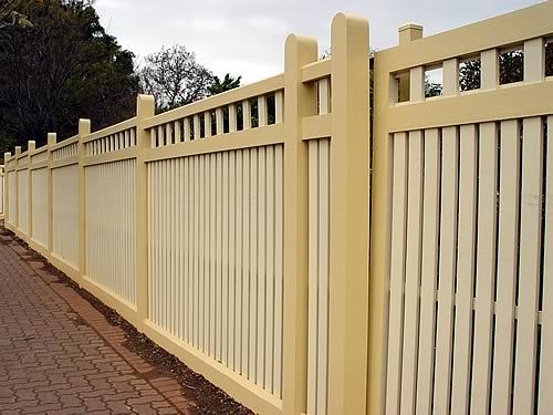 Californian Bungalow 1920 1930 Heritage Fencing fence