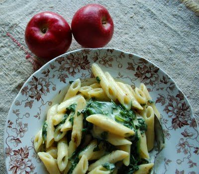 Penne and Spinach ...