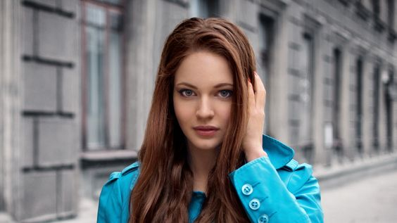 brunette, long hair, eyes - http://www.wallpapers4u.org/brunette-long-hair-eyes/